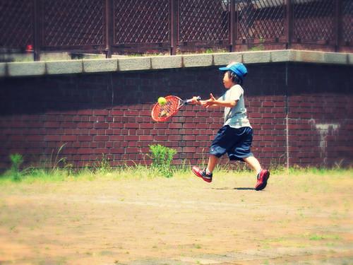 Running shot