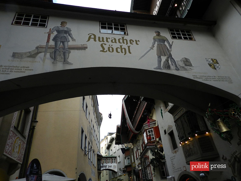 kufstein austria Römerhofgasse restaurant auracher politikpress noticias