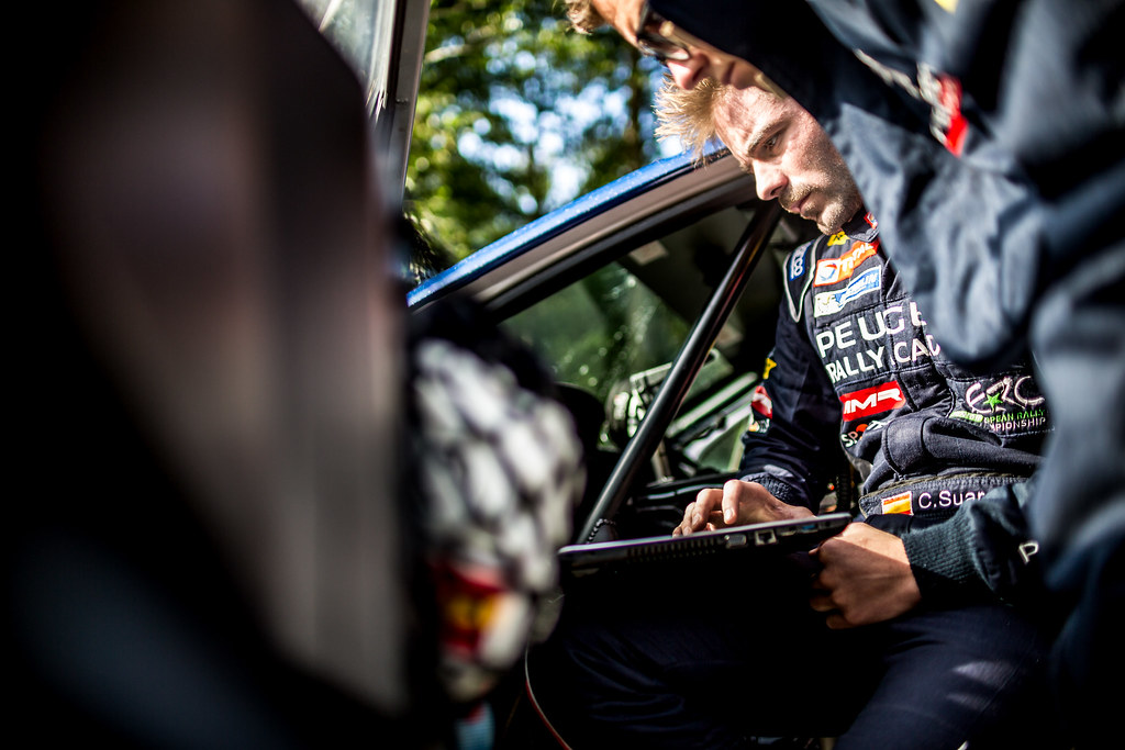 Suarez Jose Antonio, Peugeot Rally Academy, Peugeot 208 T16 ERC Junior U28 ambiance portrait during the 2017 European Rally Championship ERC Liepaja rally,  from october 6 to 8, at Liepaja, Lettonie - Photo Thomas Fenetre / DPPI