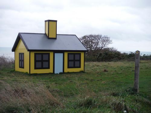 Folkestone Triennial: Richard Woods - Holiday Home [East Cliff]