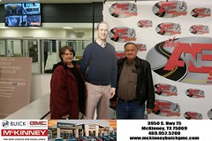 #HappyBirthday to Karen from CLARENCE Davis at McKinney Buick GMC!