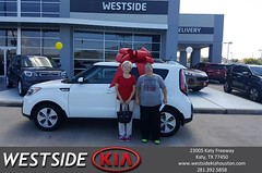 Happy Anniversary to Carolyn on your #Kia #Soul from Rubel Chowdhury at Westside Kia!