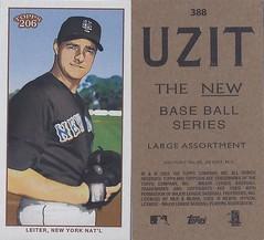 2002 / 2003 - Topps 206 Mini Baseball Card / Series 3 / Uzit - AL LEITER #388 (Pitcher) (New York Mets)