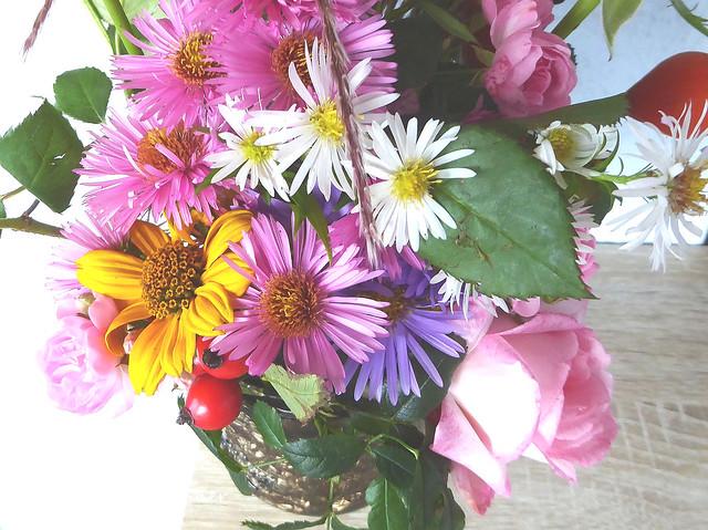 Friday-Flower-Day - Blumen aus dem Garten