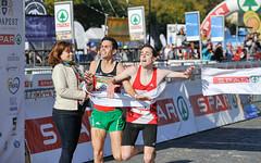 Budapest Maraton 10k finish