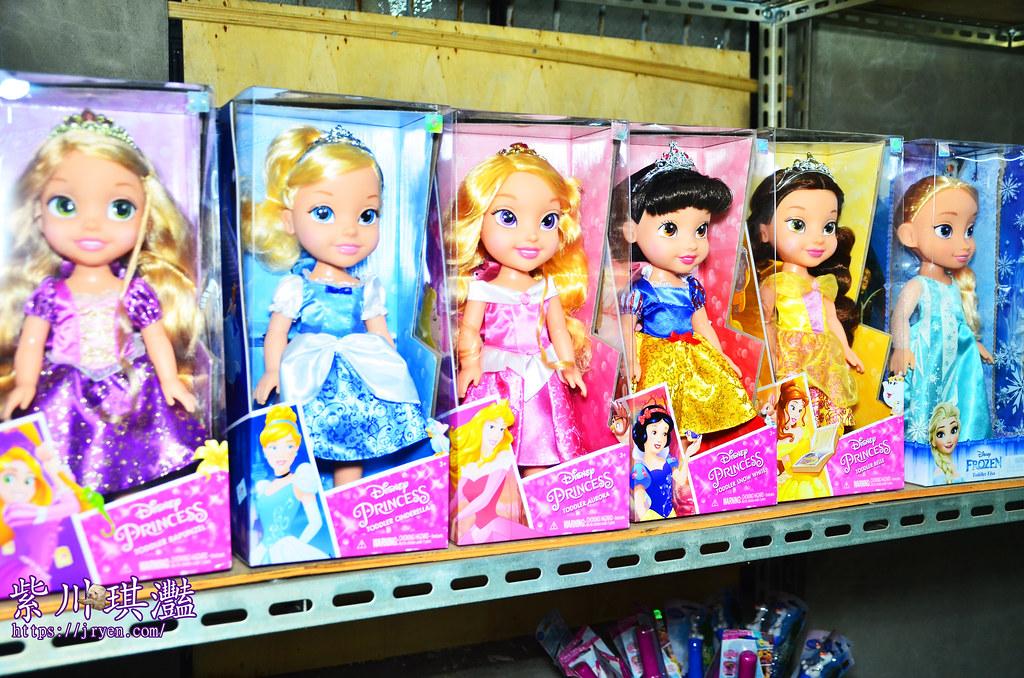 迪士尼公主娃娃-白雪公主