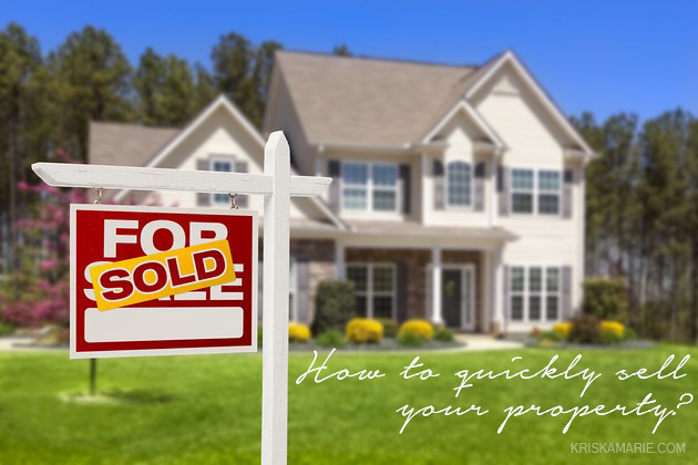 how to quickly sell your property