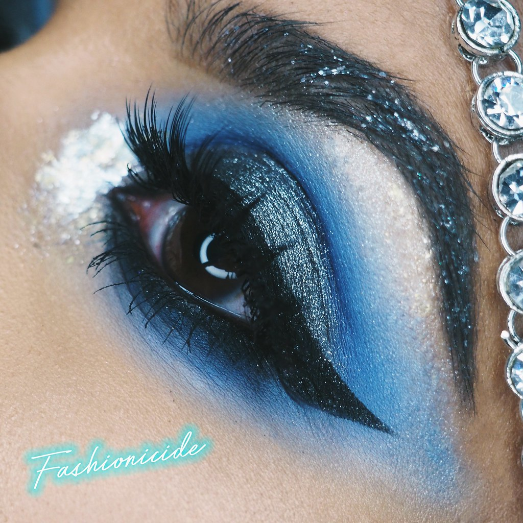 illamasqua aftermath collection visuals broken eye gel limecrime filter makeup look