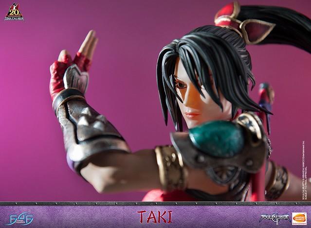 First 4 Figures《劍魂II》多喜 Soulcalibur II Taki 全身雕像作品 普通版/豪華版