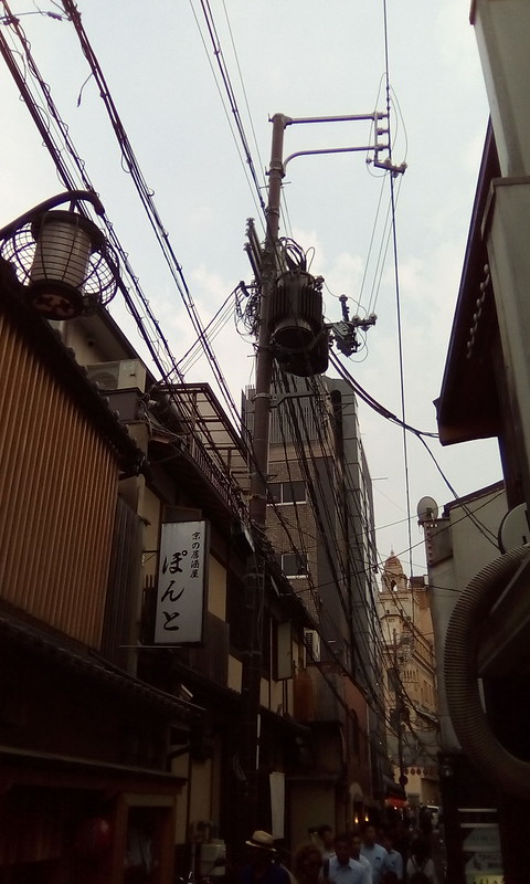 Wires, Gion, Kyoto