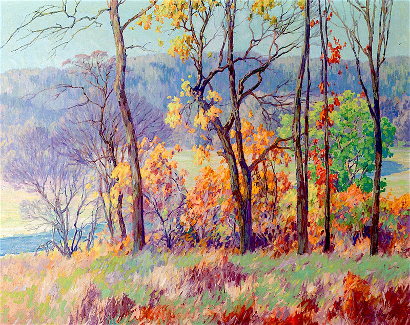 Autumn Tints by Maurice Braun (1877 - 1941)