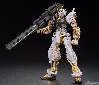 MG 1/100《機動戰士GUNDAM SEED ASTRAY》異端鋼彈金色機[特殊電鍍版〕 ガンダムアストレイ ゴールドフレーム[スペシャルコーティング]