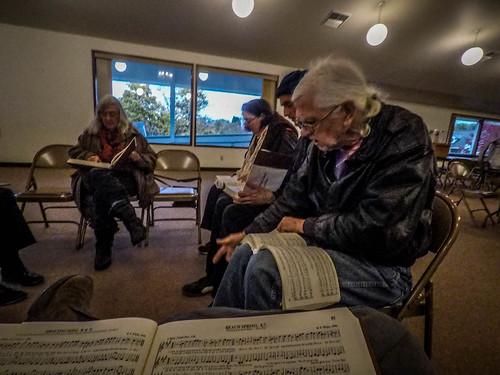 Sacred Harp Singing in Langley-4