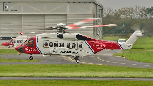 Sikorsky S-92 G-MCGC Bristow