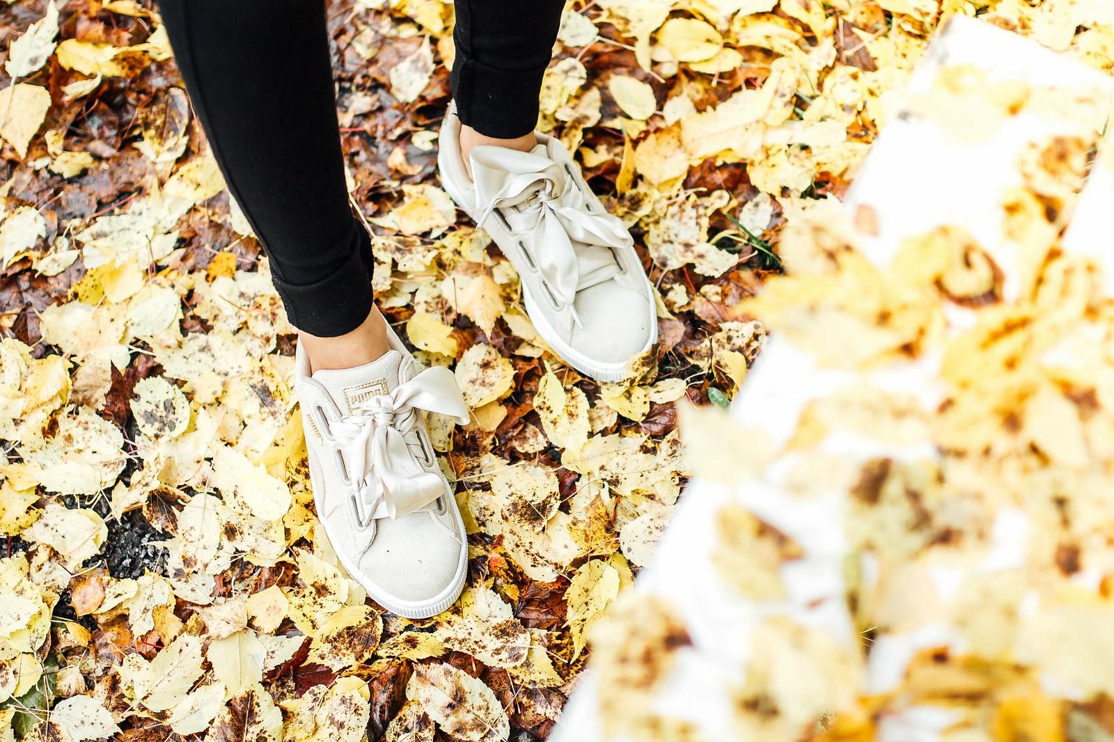 beige puma shoes