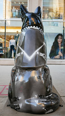 "K9s for Cops Public Art Campaign - ""Kinzie - 'Chicago Starts Here'"" by Jennifer Greenburg"