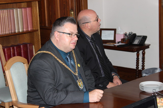 Mayor of Northampton visits our Cathedral
