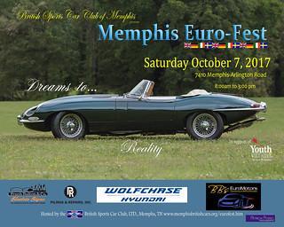10/17 Memphis Euro Auto Fest