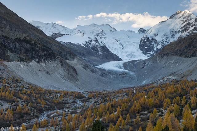 Glacier - Val Morteratsch