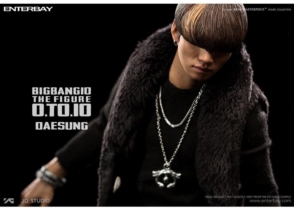 ENTERBAY – BIGBANG 10 週年紀念系列【大聲 Dae-sung】BANG BANG BANG Ver. 1/6 比例人偶作品