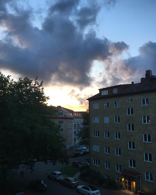 friday, sunrise, helsingborg