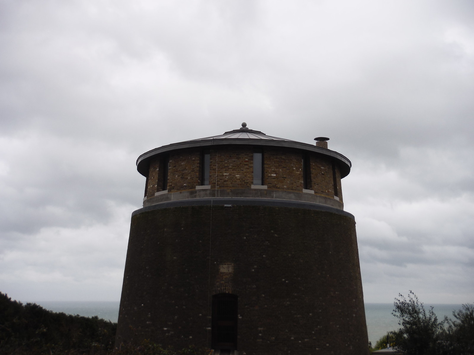 Converted Martello Tower SWC Walk 93 - North Downs Way: Sandling to Folkestone or Dover