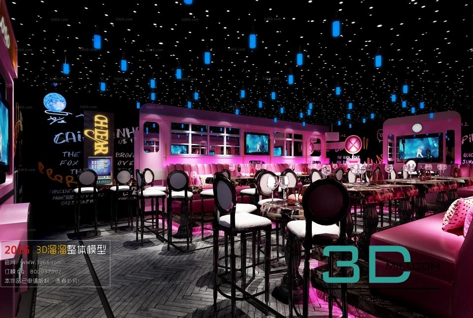 02 Model Karaoke Club 3d Mili Download 3d Model
