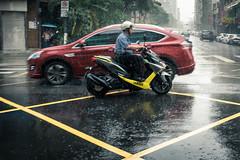 Crossing in the Rain