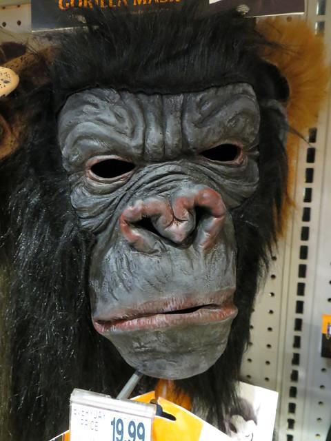 Gorilla Mask.