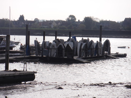 Boats Stored Upright, North Fambridge