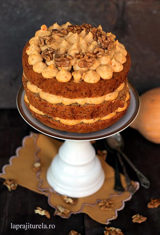 tort cu dovleac 2