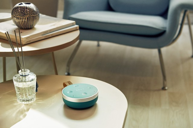 TicHome Mini, un google Home Mini sur batteries à 79$