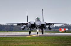 McDonnell Douglas Strike Eagle F-15E 48FW 492FS LN AF91315
