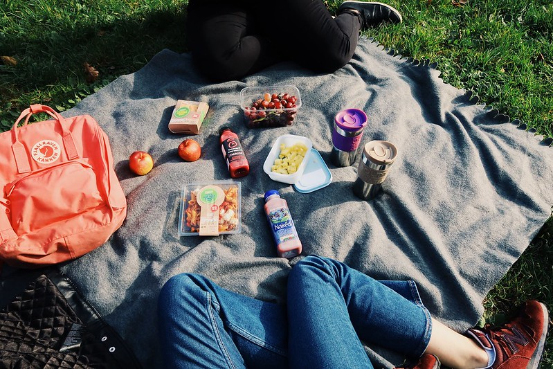 A picnic in Hampstead Heath