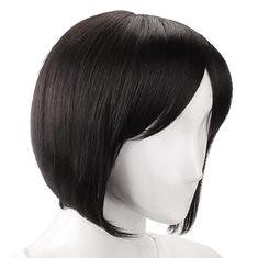 5 Colors Capless Remy Mono Top Short Straight Real Virgin Human Hair Wig (989379) #Banggood