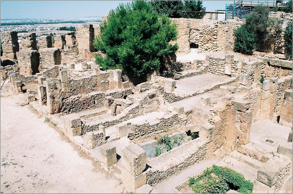 Punickie ruiny w Kartaginie