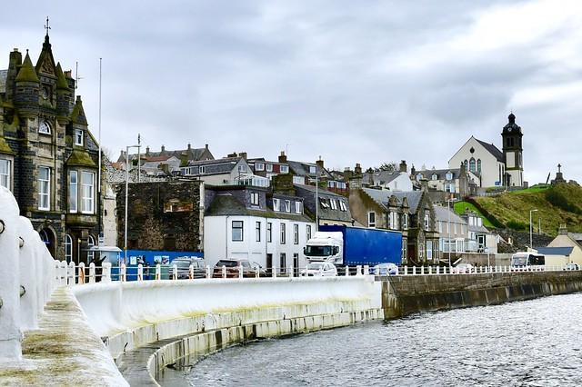 Macduff Harbour Aberdeenshire 20/10/17