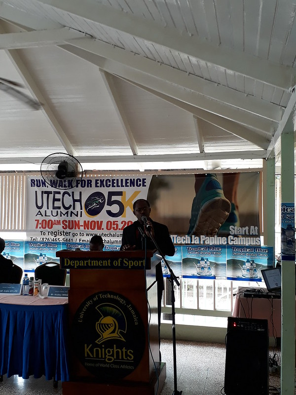 Alumni Association, UTech's Launch of their 2nd Annual 5K Run, Walk Event