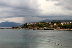 Storm is coming from Taygetos mountains