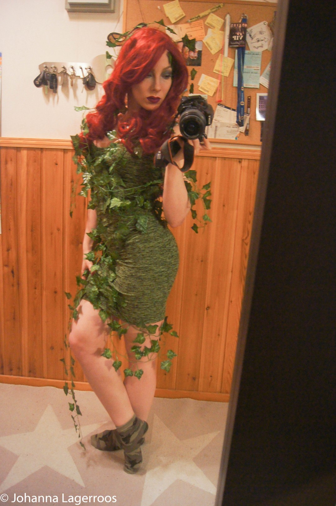 Poison Ivy Halloween costume