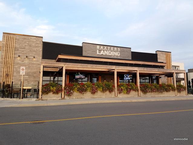 Baxters Landing storefront