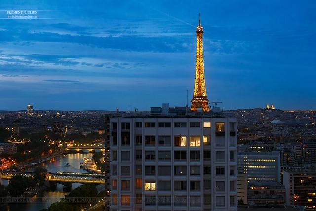 Bir Hakeim, Tour Eiffel & Sacré Coeur, Paris