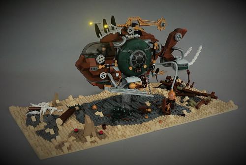 SS Melanocetus submarine - deep water exploration