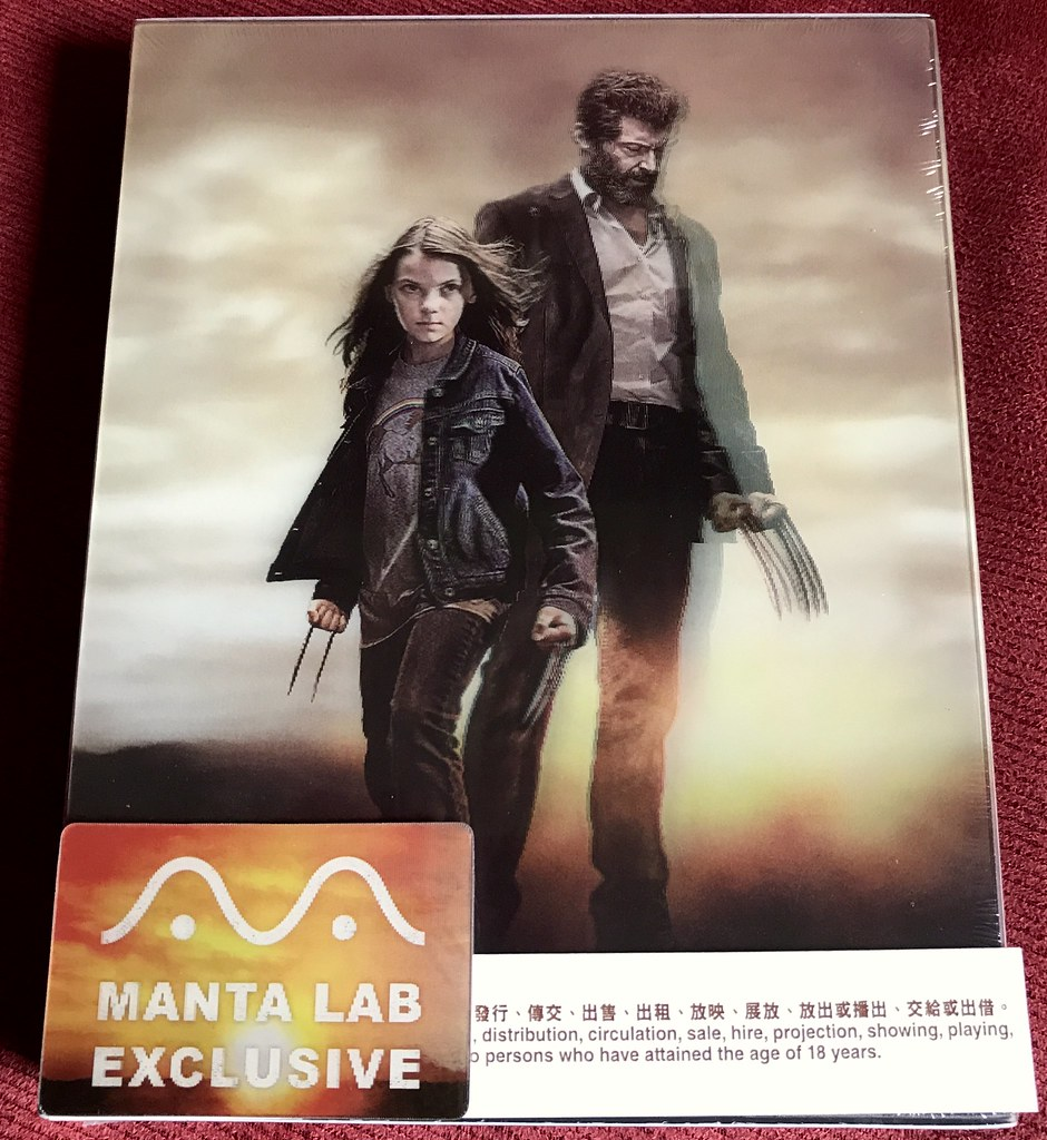 Logan - Manta Lab Double Lenticular - Media Psychos