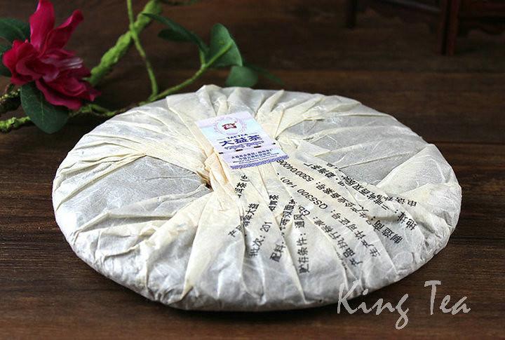 Free Shipping 2012 DaYi TAE TEA JaDe FeiCui Cake 357g China YunNan MengHai Chinese Puer Puerh Raw Tea Sheng Cha
