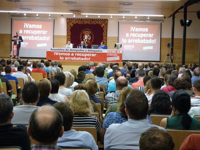 Unai Sordo (CCOO) en Toledo
