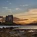 Castle Stalker Sunset by mark_mullen