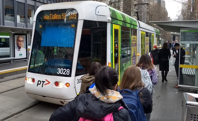 Tram 109 on Collins Street