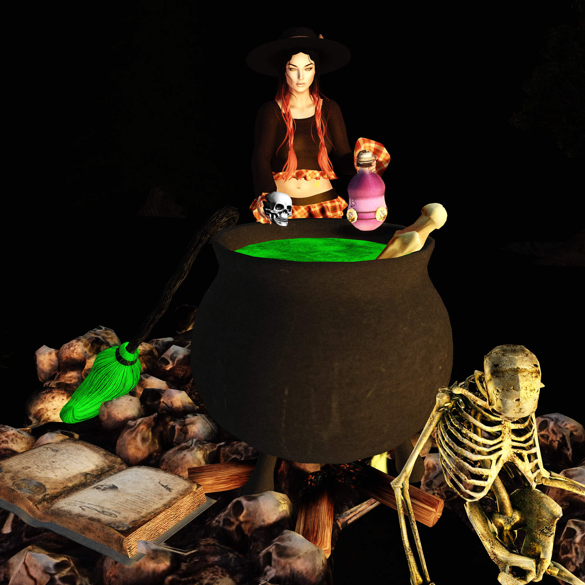 A Scorn Witches brew SN @ Hocus Pocus Cart Sale