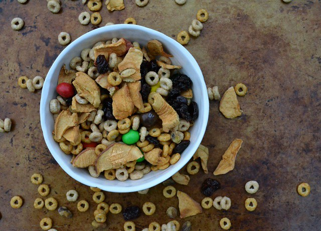 Fall Flavored Cheerios Snack Mix on The SIMPLE Moms